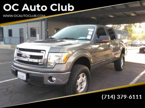 2014 Ford F-150 for sale at OC Auto Club in Midway City CA