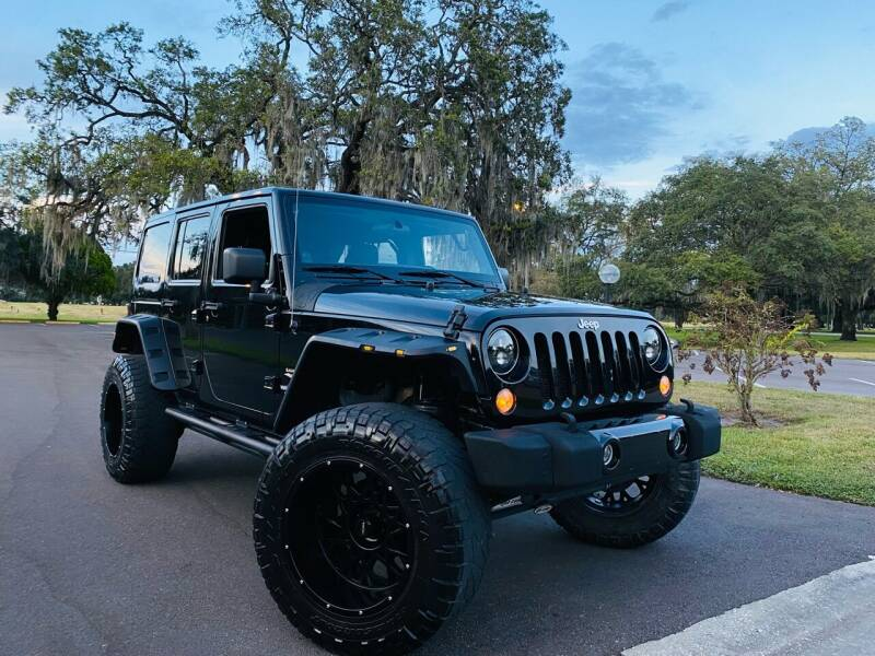 2012 Jeep Wrangler Unlimited for sale at FLORIDA MIDO MOTORS INC in Tampa FL