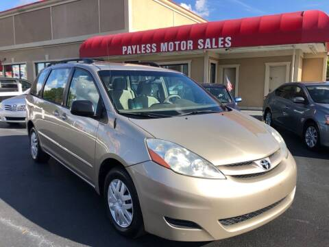2009 Toyota Sienna for sale at Payless Motor Sales LLC in Burlington NC