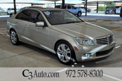 2011 Mercedes-Benz C-Class for sale at C3Auto.com in Plano TX
