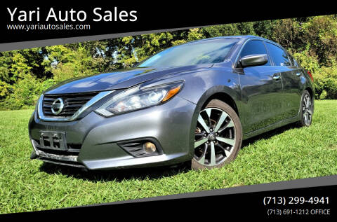 2016 Nissan Altima for sale at Yari Auto Sales in Houston TX