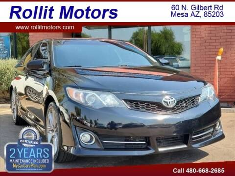 2013 Toyota Camry for sale at Rollit Motors in Mesa AZ