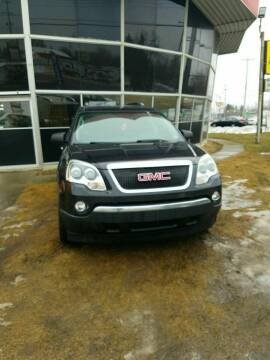 2008 GMC Acadia for sale at Fansy Cars in Mount Morris MI