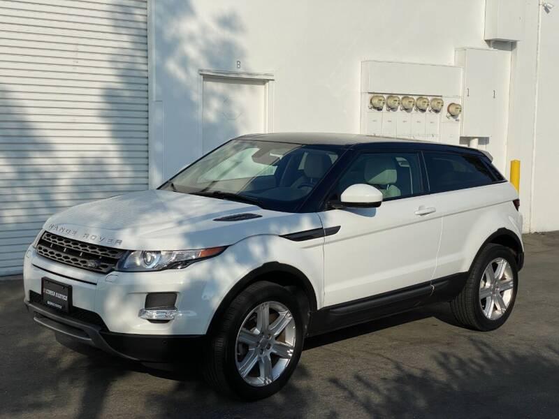 2014 Land Rover Range Rover Evoque Coupe for sale at Corsa Exotics Inc in Montebello CA