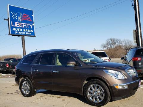 2012 Buick Enclave for sale at Liberty Auto Sales in Merrill IA