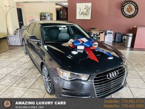 2016 Audi A6 for sale at Amazing Luxury Cars in Snellville GA