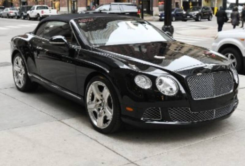 2012 Bentley Continental for sale at Motor Pool Operations in Hainesport NJ