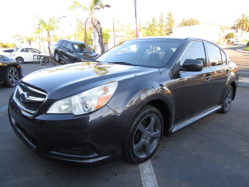 2011 Subaru Legacy for sale at Eagle Auto in La Mesa CA
