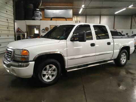 2006 GMC Sierra 1500 for sale at T James Motorsports in Gibsonia PA