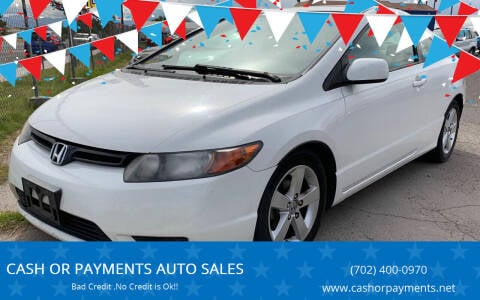 2007 Honda Civic for sale at CASH OR PAYMENTS AUTO SALES in Las Vegas NV
