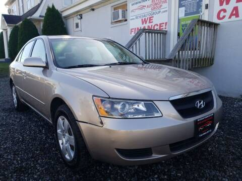 2007 Hyundai Sonata for sale at Reyes Automotive Group in Lakewood NJ