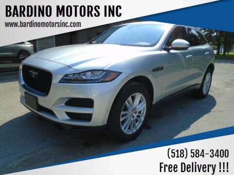 2019 Jaguar F-PACE for sale at BARDINO MOTORS INC in Saratoga Springs NY