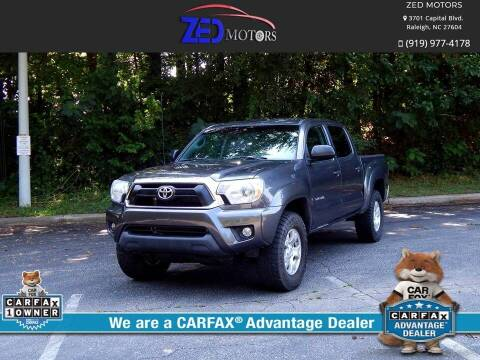 2015 Toyota Tacoma for sale at Zed Motors in Raleigh NC