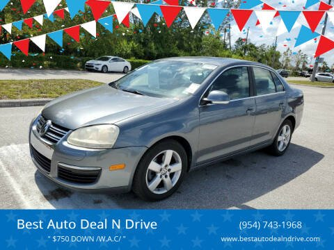 2009 Volkswagen Jetta for sale at Best Auto Deal N Drive in Hollywood FL