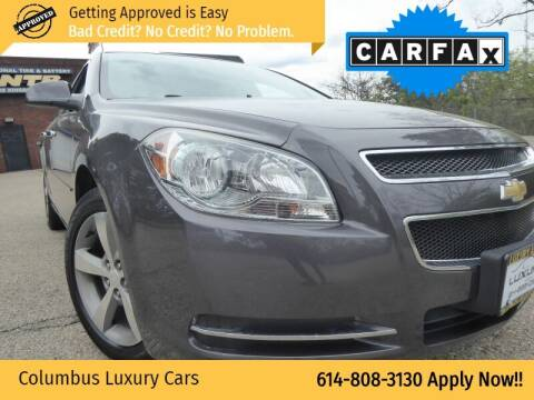 2012 Chevrolet Malibu for sale at Columbus Luxury Cars in Columbus OH