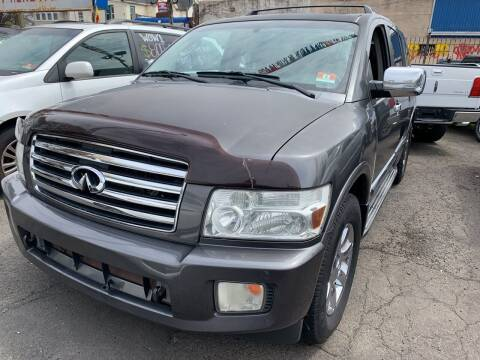 2004 Infiniti QX56 for sale at Rallye  Motors inc. in Newark NJ