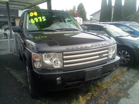 2004 Land Rover Range Rover for sale at Payless Car & Truck Sales in Mount Vernon WA