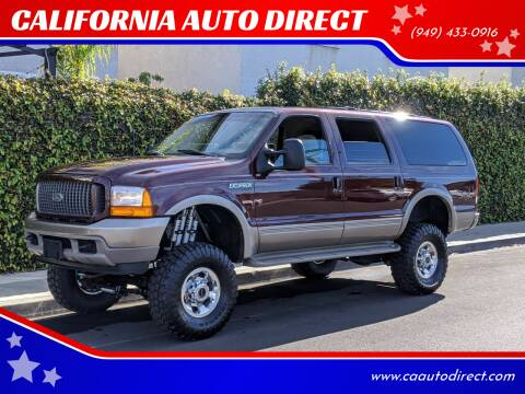 2000 Ford Excursion for sale at CALIFORNIA AUTO DIRECT in Costa Mesa CA