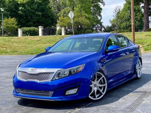 2015 Kia Optima for sale at Sebar Inc. in Greensboro NC