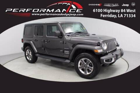 2020 Jeep Wrangler Unlimited for sale at Auto Group South - Performance Dodge Chrysler Jeep in Ferriday LA