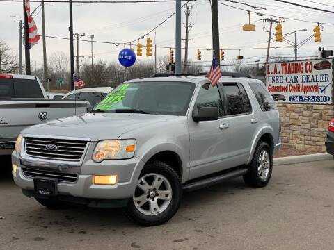 2010 Ford Explorer for sale at L.A. Trading Co. Woodhaven - L.A. Trading Co. Detroit in Detroit MI