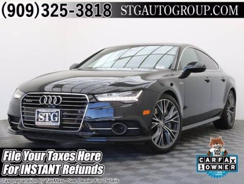 2017 Audi A7 for sale at STG Auto Group in Montclair CA