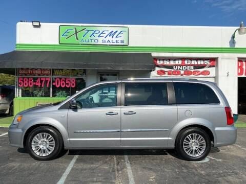 2014 Chrysler Town and Country for sale at Extreme Auto Sales in Clinton Township MI