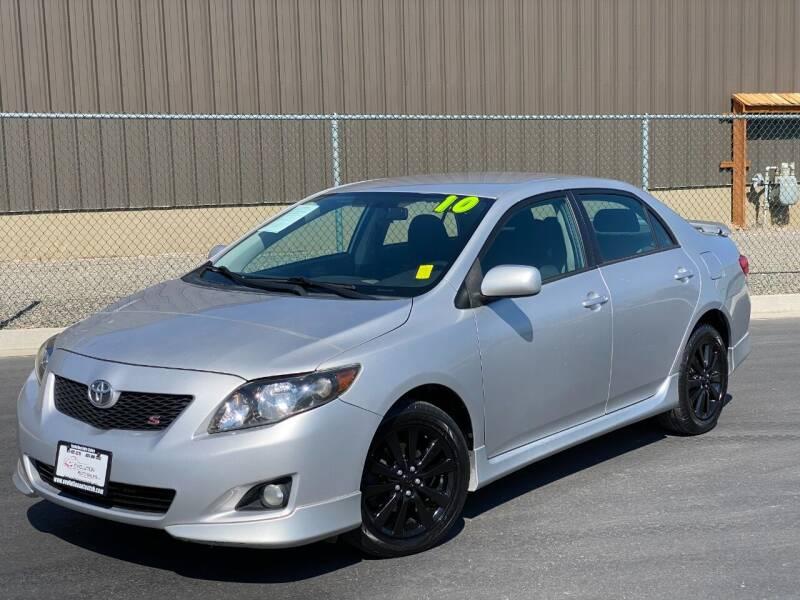 2010 Toyota Corolla for sale at Evolution Auto Sales LLC in Springville UT