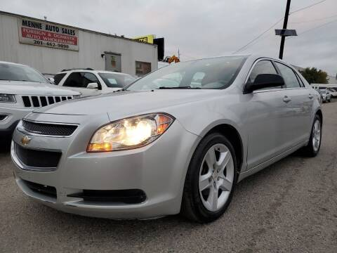 2010 Chevrolet Malibu for sale at MENNE AUTO SALES LLC in Hasbrouck Heights NJ