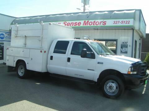 2002 Ford F-550 Super Duty for sale at Common Sense Motors in Spokane WA