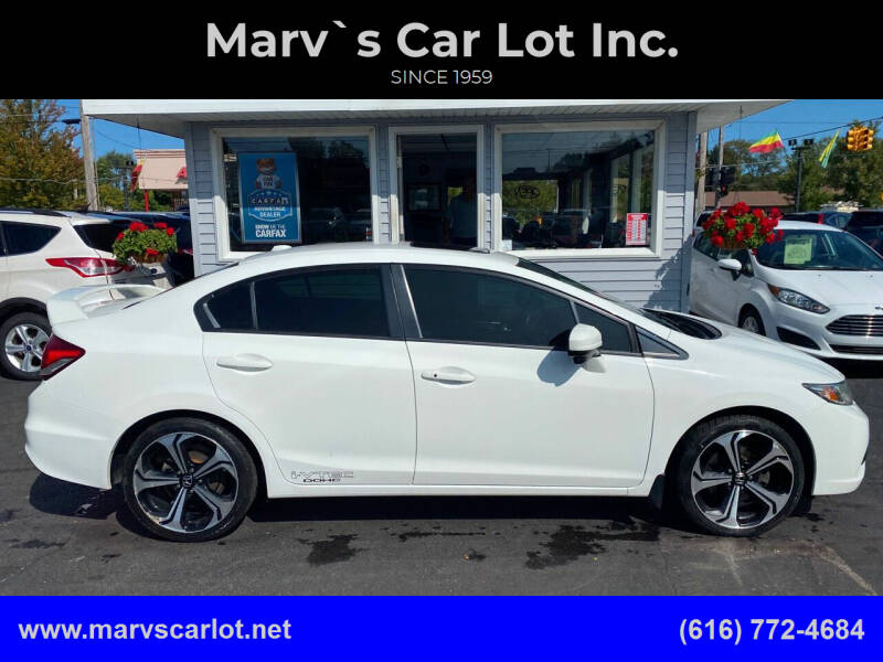 2014 Honda Civic for sale at Marv`s Car Lot Inc. in Zeeland MI