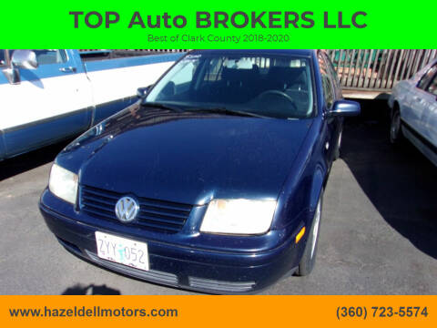 2002 Volkswagen Jetta for sale at TOP Auto BROKERS LLC in Vancouver WA