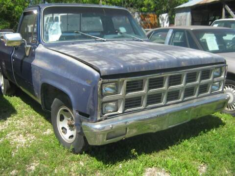 1982 Chevrolet C/K 10 Series for sale at Ody's Autos in Houston TX