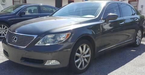2009 Lexus LS 460 for sale at Klassic Cars in Lilburn GA