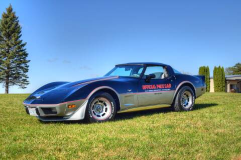1978 Chevrolet Corvette for sale at Hooked On Classics in Watertown MN