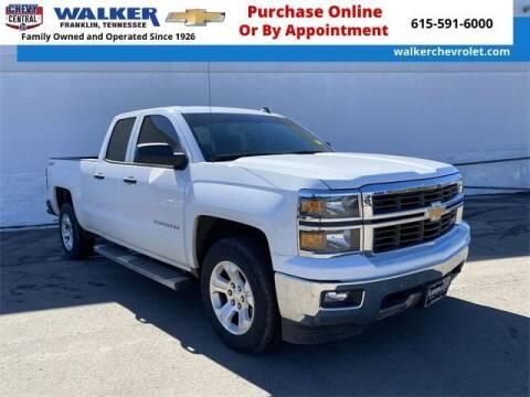 2014 Chevrolet Silverado 1500 for sale at WALKER CHEVROLET in Franklin TN