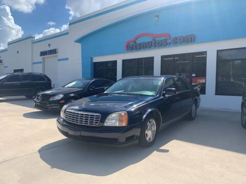 2002 Cadillac DeVille for sale at ETS Autos Inc in Sanford FL
