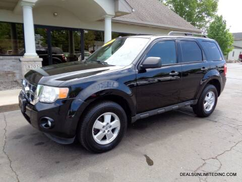 2012 Ford Escape for sale at DEALS UNLIMITED INC in Portage MI