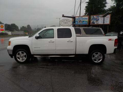 2014 GMC Sierra 2500HD for sale at EAST MAIN AUTO SALES in Sylva NC
