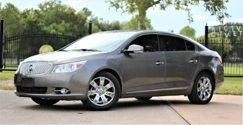 2011 Buick LaCrosse for sale at Texas Auto Corporation in Houston TX