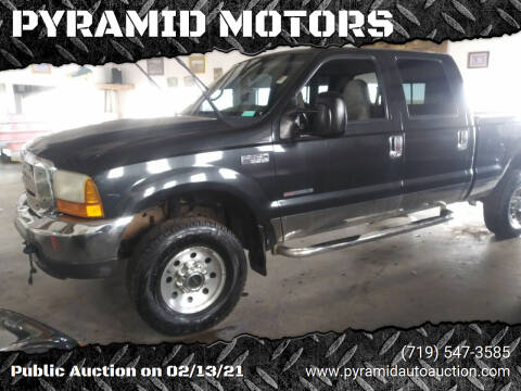 1999 Ford F-350 Super Duty for sale at PYRAMID MOTORS - Pueblo Lot in Pueblo CO