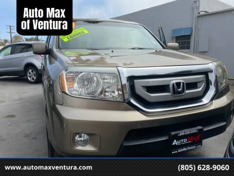2011 Honda Pilot for sale at Auto Max of Ventura in Ventura CA