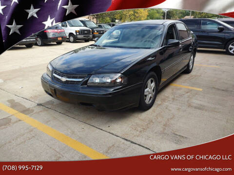 2005 Chevrolet Impala for sale at Cargo Vans of Chicago LLC in Mokena IL