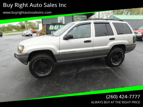 2003 Jeep Grand Cherokee for sale at Buy Right Auto Sales Inc in Fort Wayne IN