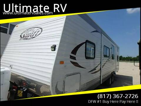 2014 Jayco Jay Flight Swift 287BHBE for sale at Ultimate RV in White Settlement TX