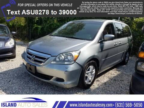 2007 Honda Odyssey for sale at Island Auto Sales in E.Patchogue NY