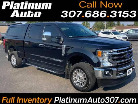 2020 Ford F-250 Super Duty for sale at Platinum Auto in Gillette WY