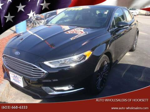 2017 Ford Fusion for sale at Auto Wholesalers Of Hooksett in Hooksett NH