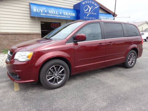 2017 Dodge Grand Caravan for sale at VanderHaag Car Sales LLC in Scottville MI