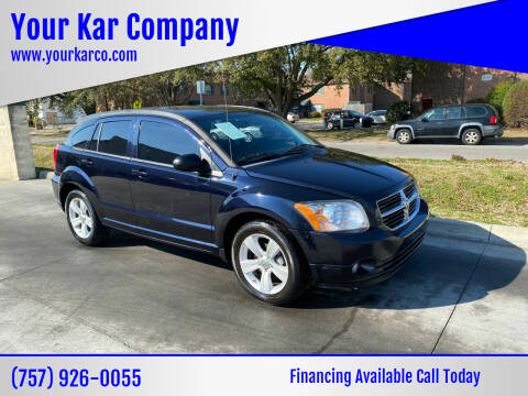 2011 Dodge Caliber for sale at Your Kar Company in Norfolk VA
